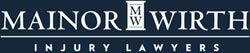 Mainor Wirth Injury Lawyers footer logo