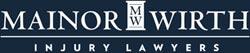 Mainor Wirth Injury Lawyers footer logo