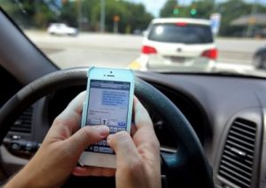 texting while driving, accident attorney las vegas
