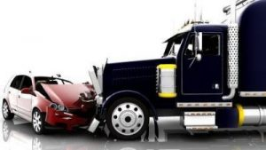 truck and vehicle crash