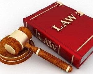 law gavel and book