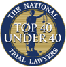 Top 40 Under 40 award logo