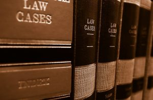 law cases book in shelf, lawyers