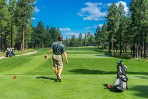 golfer, personal injury