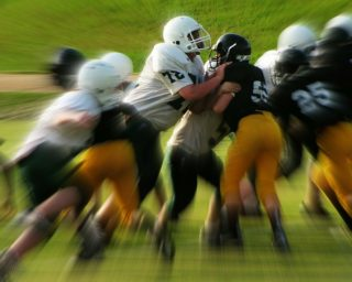 school football team, personal injury