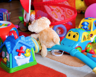a collection of toys, product liability