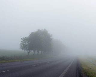 road in foggy condition, accident attorney