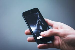 using uber on phone, las vegas car accident attorneys