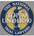 Top 40 Under 40 badge logo