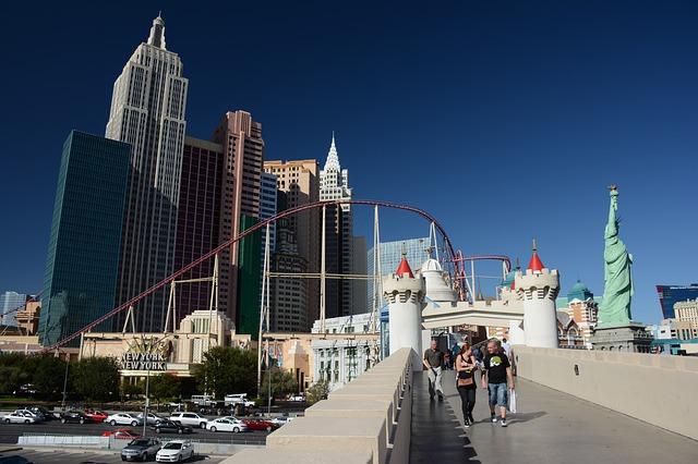 passengers in Las Vegas